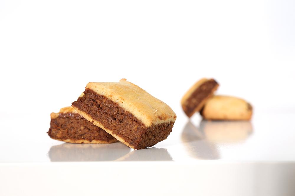 Trancini con Amarena e Cacao